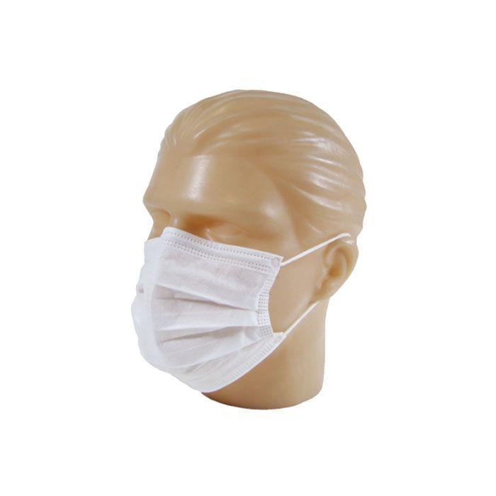 Máscara Descartável Tripla com Elástico Nobre Goedert