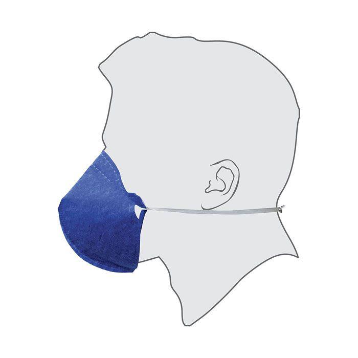 Máscara Respiratória PFF2 (S) Sem Válvula Pro Agro Delta Plus