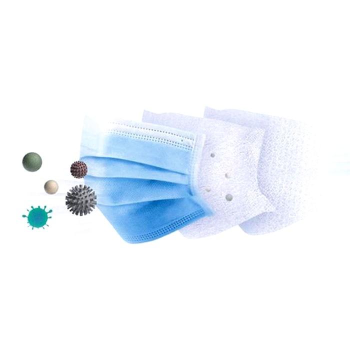 Máscara Tripla Azul H7 Clean c/ 50 unidades