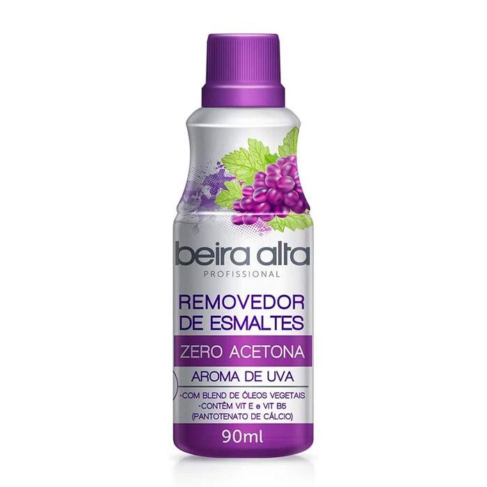 Removedor de Esmaltes Zero Acetona Aroma de Uva Beira Alta