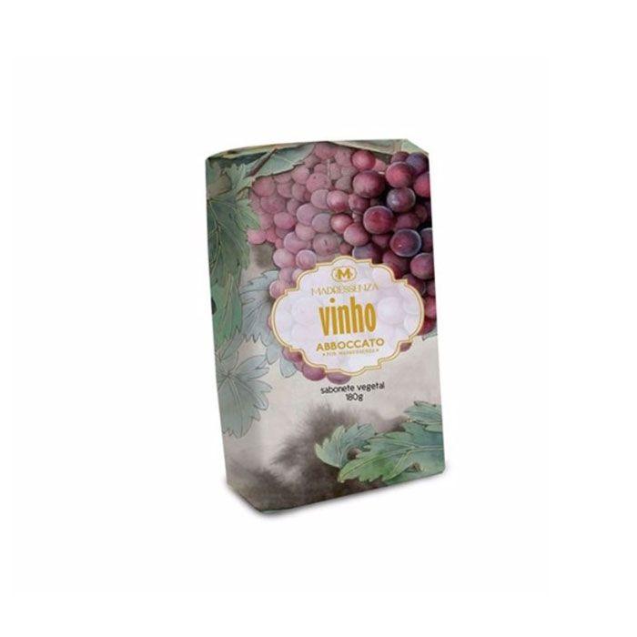 Sabonete em Barra Vegetal Vinho Madressenza 180g
