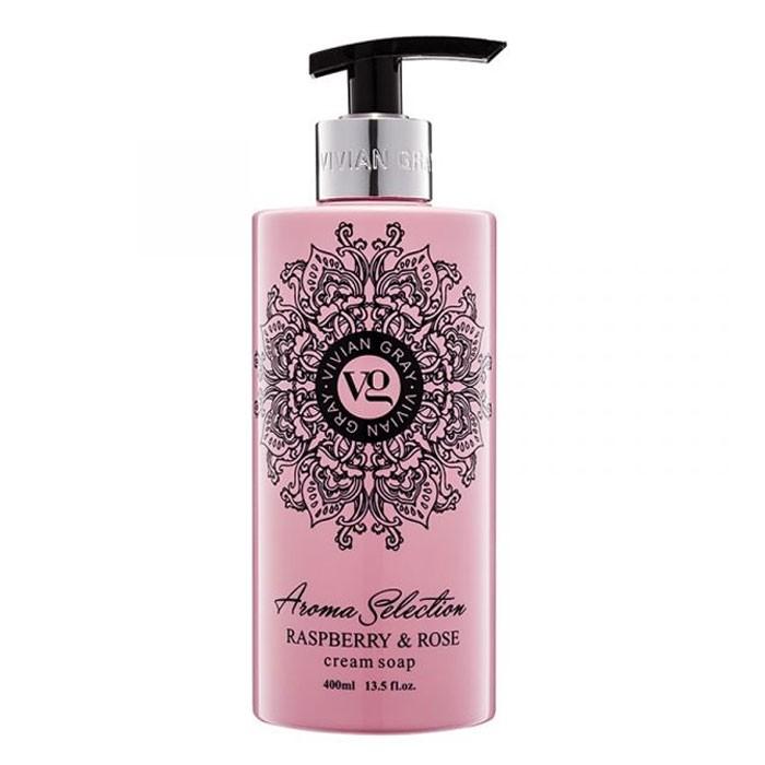 Sabonete Líquido Aroma Framboesa e Rosas Vivian Gray 400ml