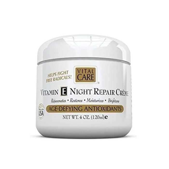 Vital Care Vitamin e Night Repair Creme Age-Defying 120ml
