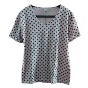 Blusa Malha Algodão Plus Size Poá
