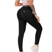 Calça Super Skinny Collor Feminina Pit Bull Jeans Ref 37656