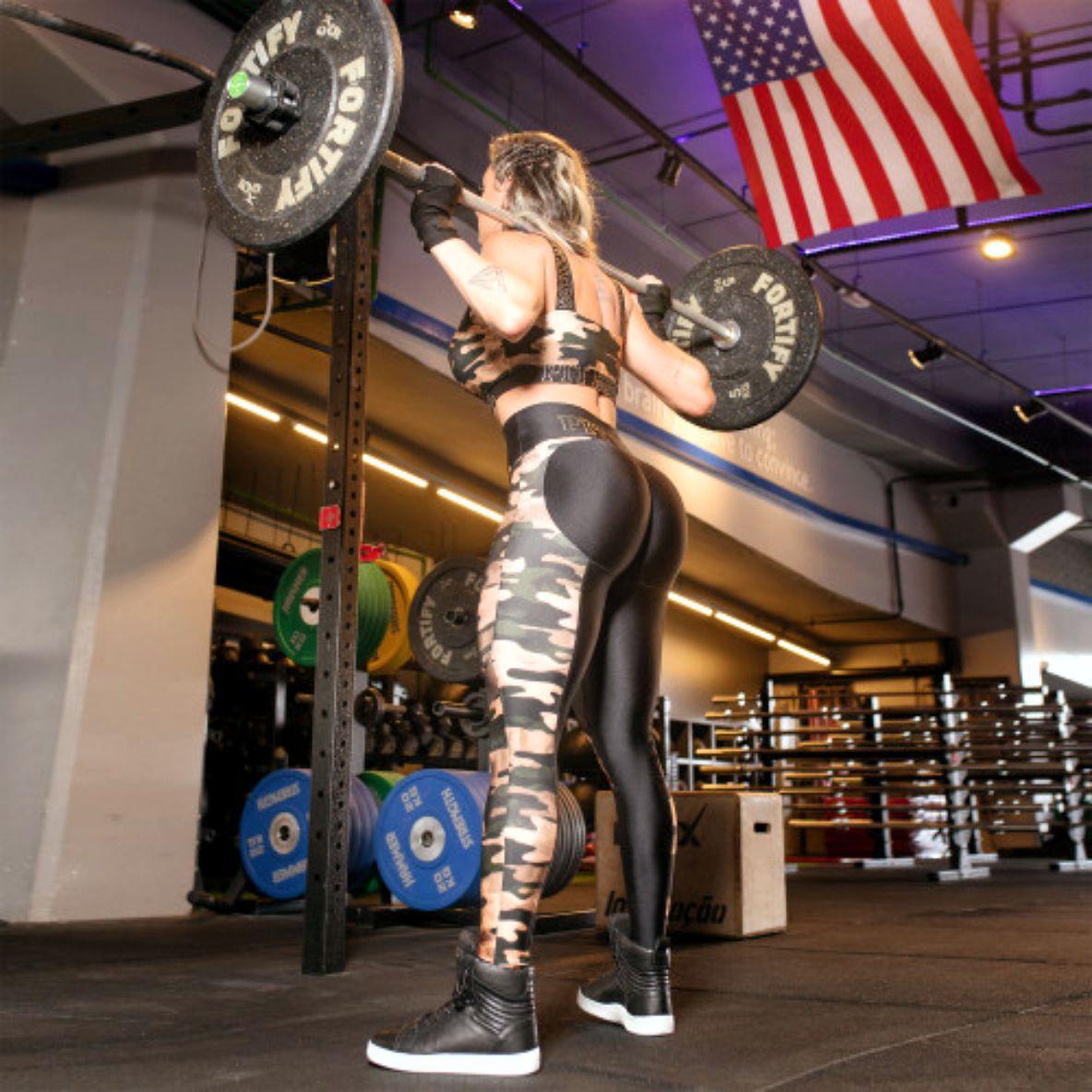 Calca Pit Bull 34117 Legging Fitness Empina Bumbum