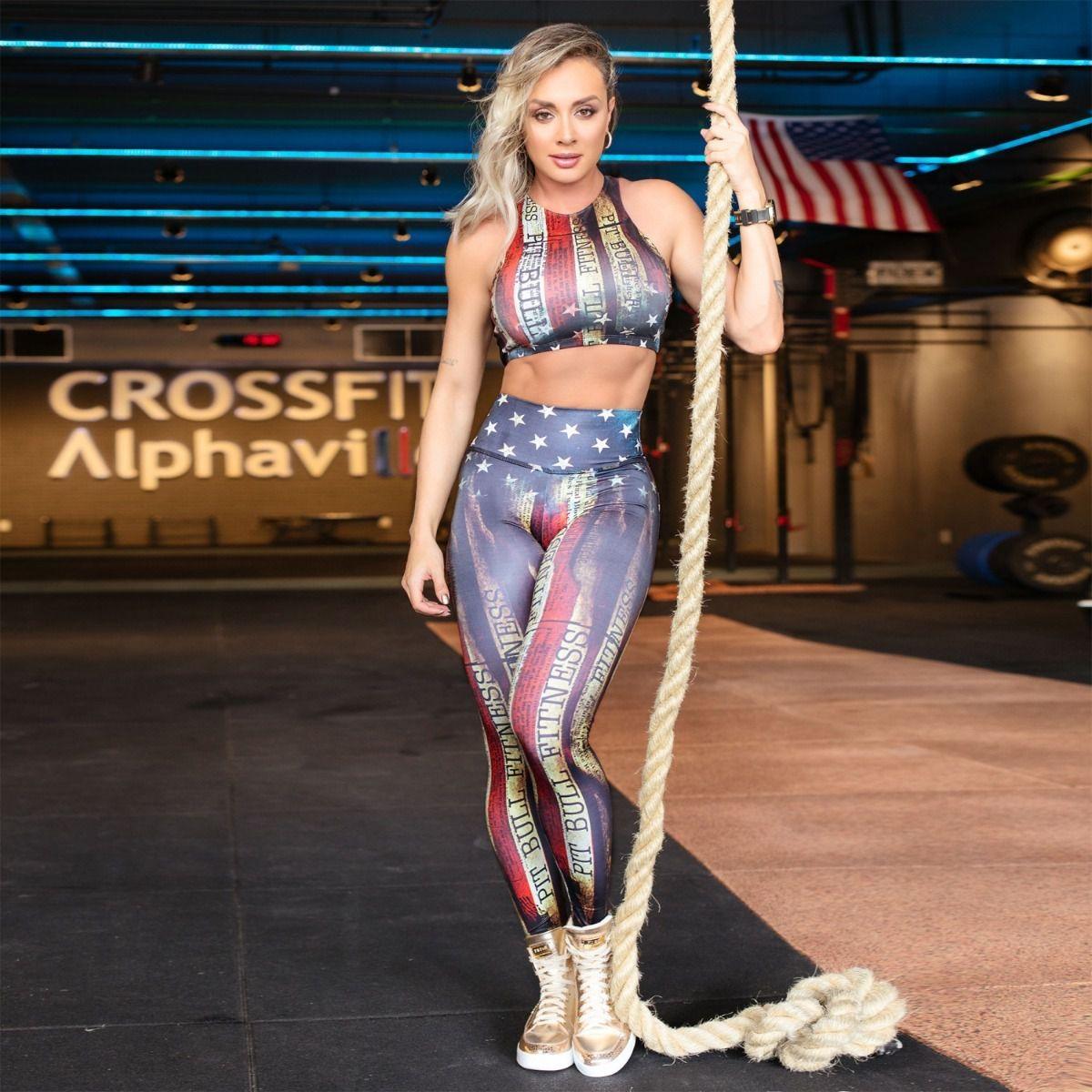 Calca Pit Bull 34372 Legging Fitness USA