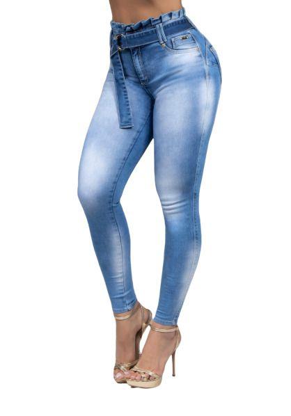 Calça Pit Bull 34827 Jeans Skinny Clochard