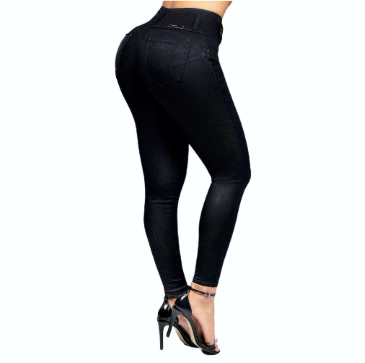 Calça Skinny Jeans Black Feminina Pit Bull