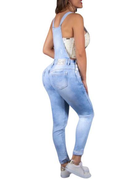 Jardineira Pit Bull Jeans Ref. 32621