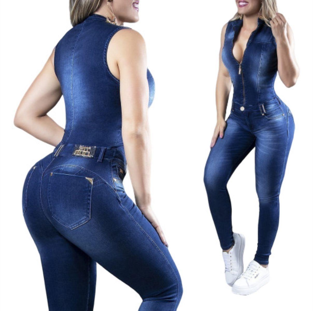 Macacão Pit Bull 30754 Confort Jeans