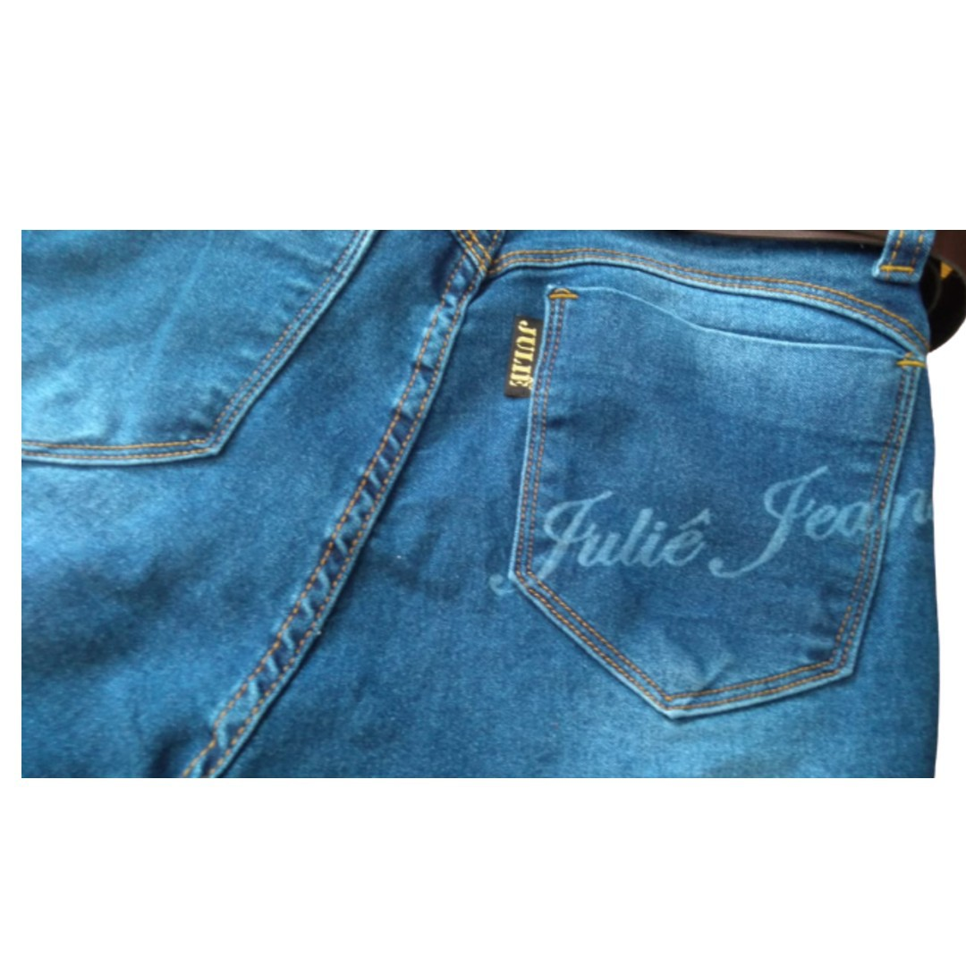 Short Jeans Julie Bain Virada C/cinto