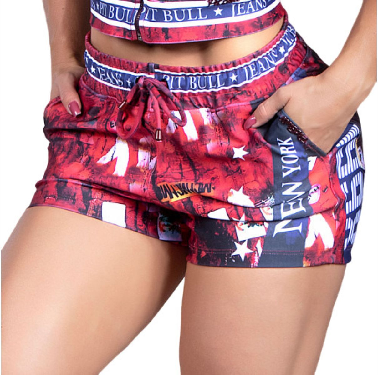 Short Pit Bull Boxer Sports Ref. 30677