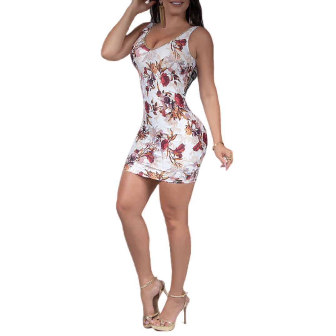Vestido Pit Bull 32848 Floral sexy