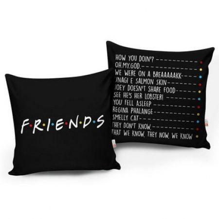 Conjunto de 02 Almofadas Casa Meva Friends