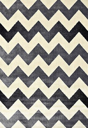 Tapete Casa Meva Chevron Textura Antiderrapante 200x140cm