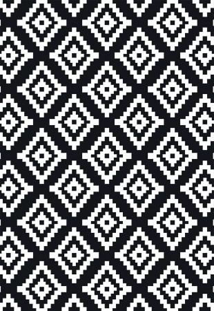 Tapete  Casa Meva Lozenge Black 200x140 cm