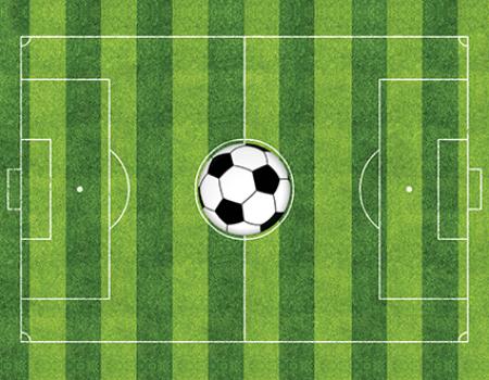 Tapete de Atividades - Campo de Futebol