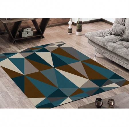 Tapete Diamond Marrom 100x140 cm