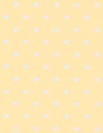 Tapete Infantil Estrelinhas Amarelo 140 x 180 cm