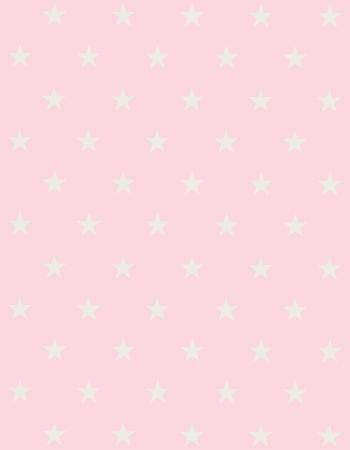 Tapete Infantil Estrelinhas Rosa 140 x 180 cm