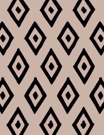 Tapete Infantil Étnico Tribos Bege 140 x 180 cm