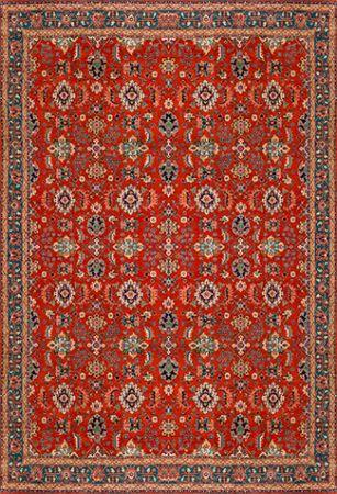 Tapete para Sala Casa Meva® Classic Hamadan Oriental Antiderrapante 200 x 140 cm