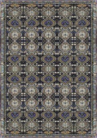 Tapete Persa Azul Antiderrapante 200 x 140 cm