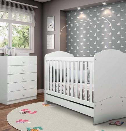 Tapete redondo Infantil Bebê Numbers 1,40mx1,40m