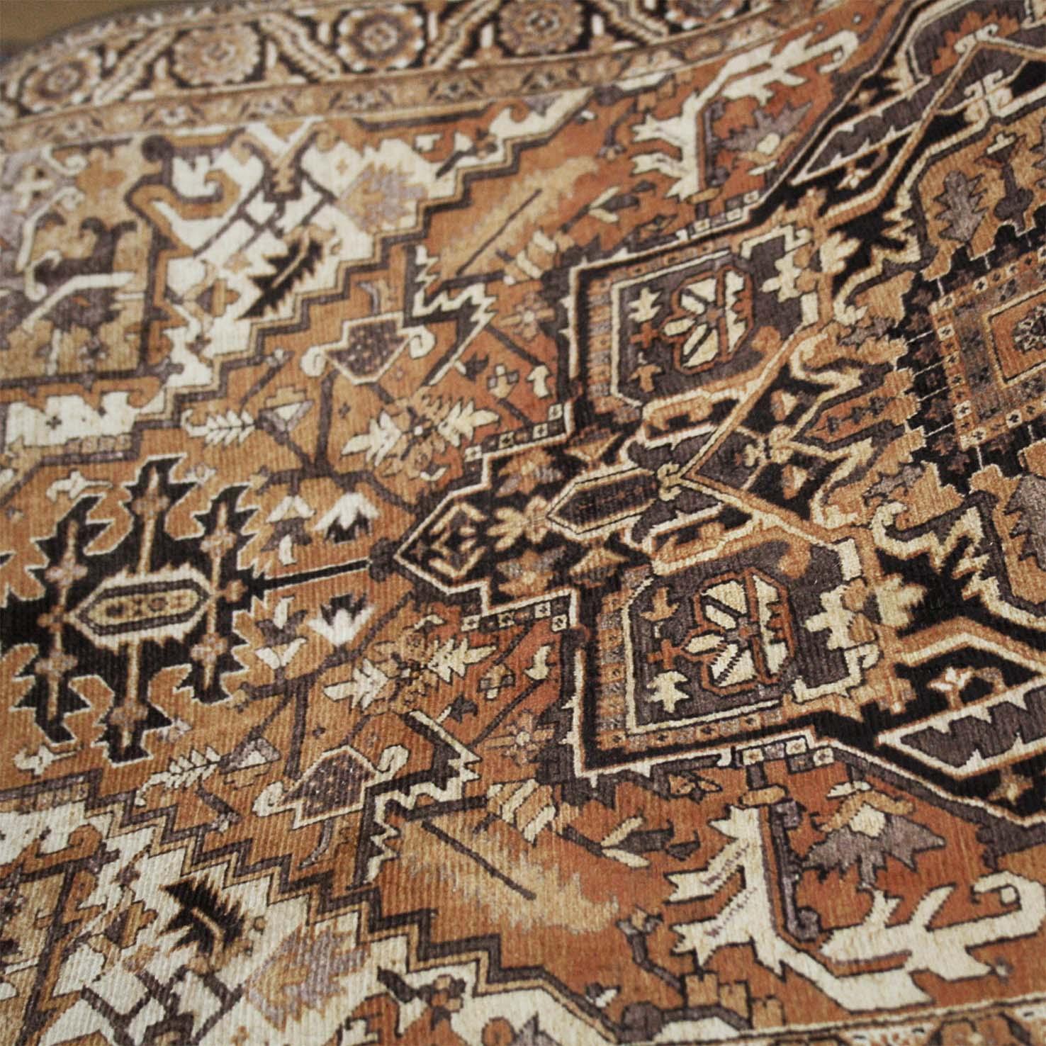 Capacho Persa Marrom 45x75cm