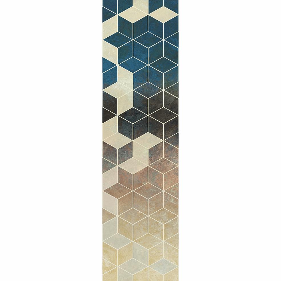 Passadeira Cubes - 66 x 240 cm