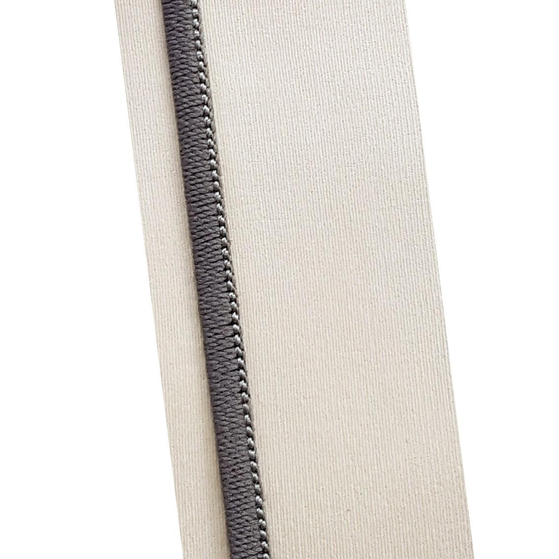 Passadeira Geométrico Black & Gray 66 x 240 cm
