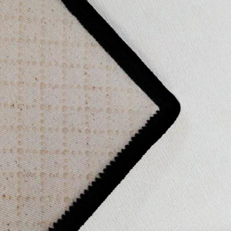 Passadeira Lozenge Black - 66 x 240 cm