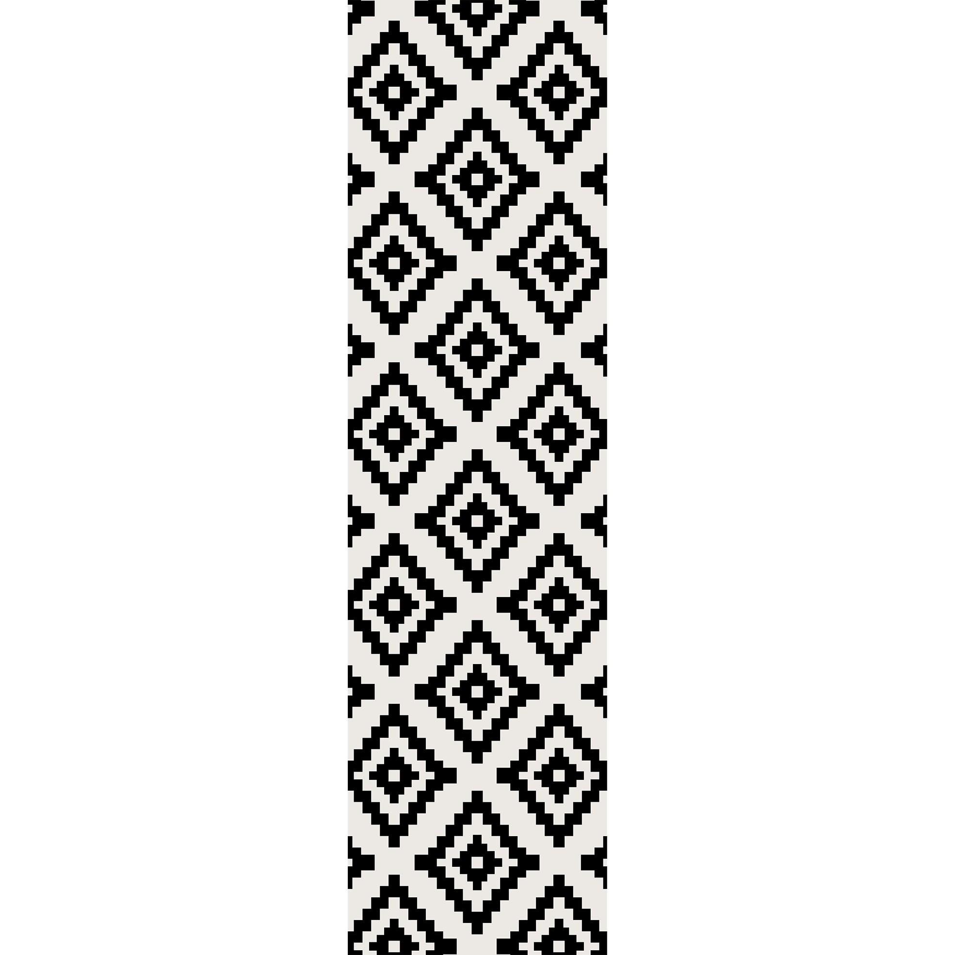 Passadeira Lozenge Largo - 66 x 240 cm