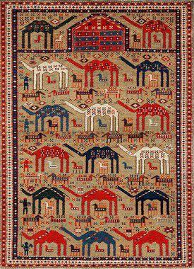 Tapeçaria de Parede Casa Meva Camel 100x140cm