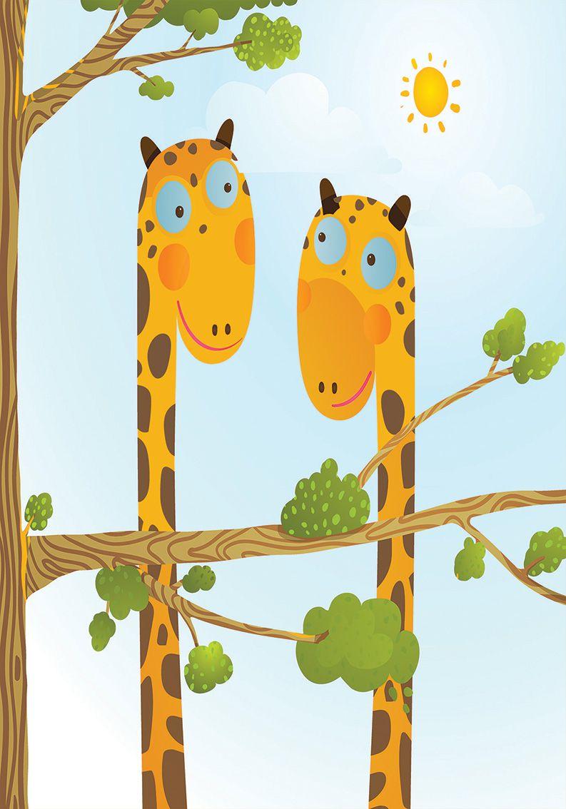 Tapete Giraffes 200x140 cm
