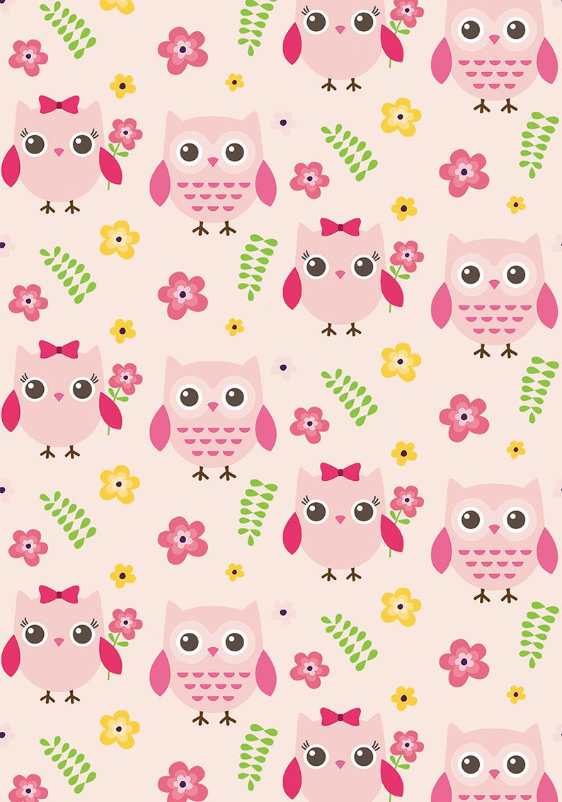 Tapete Owls 200x140 cm