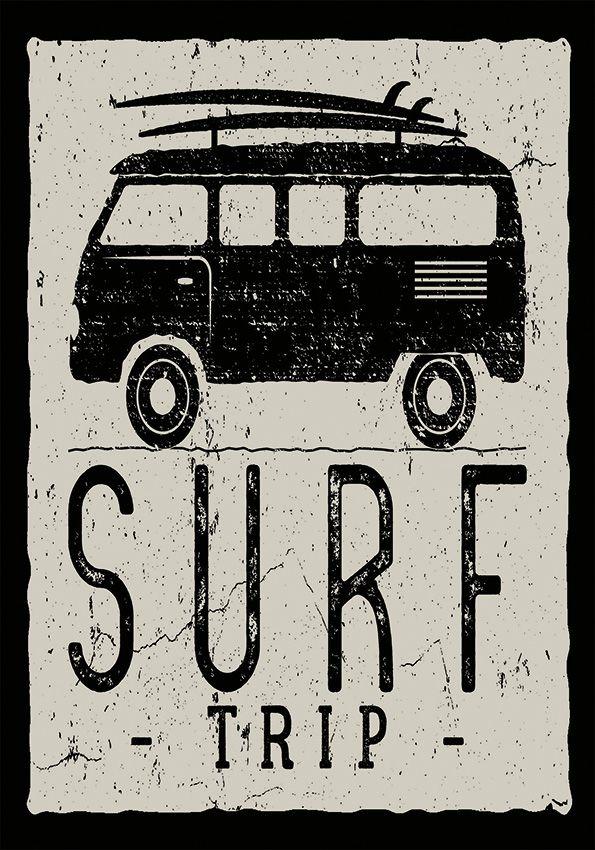 Tapete Surf Trip 200x140 cm