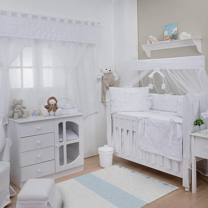 Tapete Infantil Bebê Clouds Blue