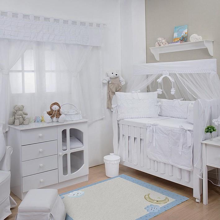 Tapete Infantil Bebê Night Blue