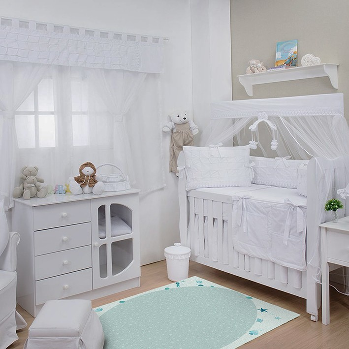 Tapete Infantil Bebê Sea Blue