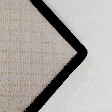Tapete Lozenge Black 100x140 cm