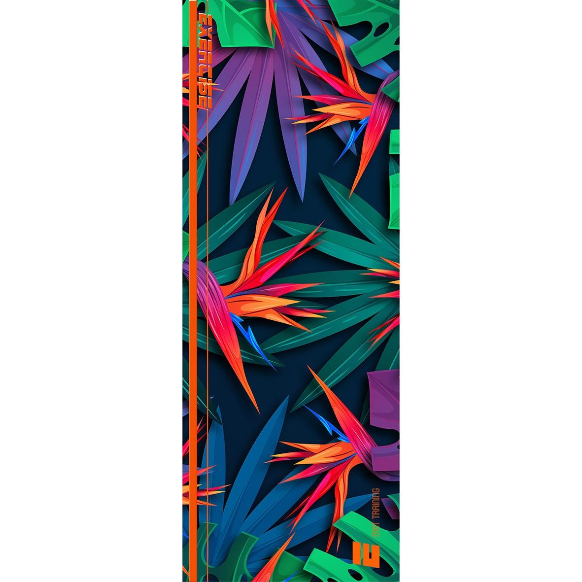Tapete Mat exercícios Jungle Color 0,66X1,85m