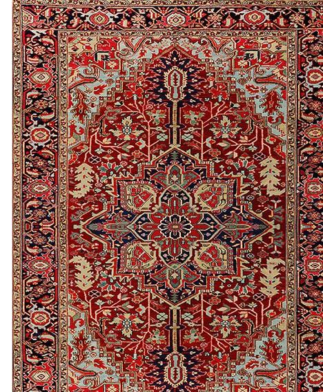 Tapete Passadeira Persian Heriz 66X240cm