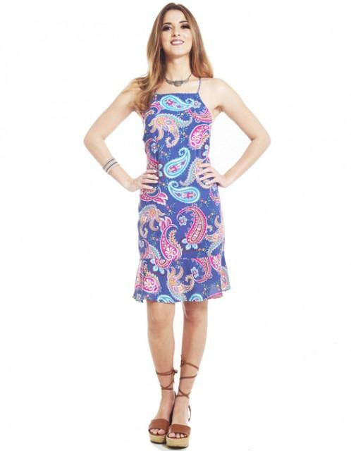 Vestido OCNA BRASIL Cachmere Amarilis