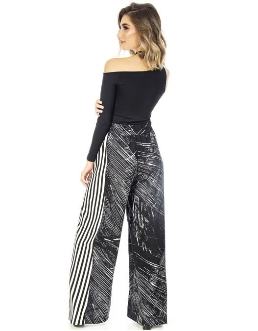 Calça OCNA BRASIL Pantalona Faixa Lateral
