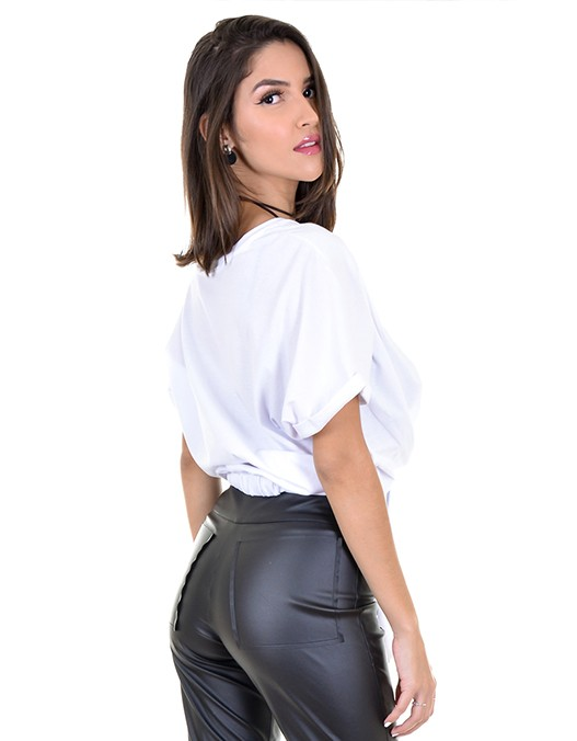 Camiseta OCNA BRASIL Nó Lateral