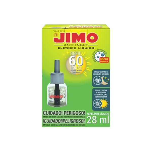 Anti Insetos - Jimo, Refil Líquido, 60 Noites
