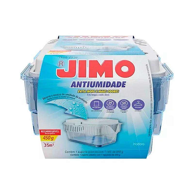 Antiumidade - Jimo, Evita Mofo, Recarregável, 450g