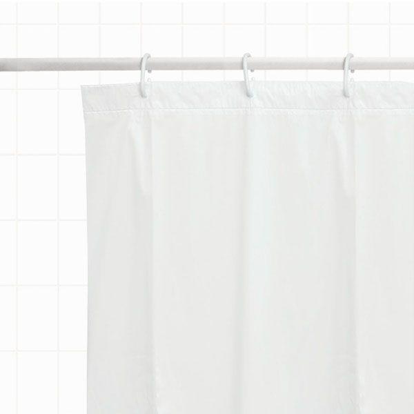Cortina para Box - De Banheiro, Polietileno, Lisa
